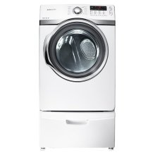7.4 cu. ft. Super Capacity Front-Load Dryer (White)