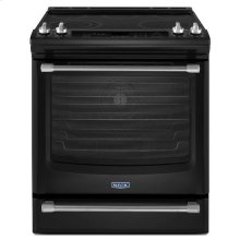 Black Ice Maytag® 6.4 cu. ft. Front Control Electric Range with the FIT System
