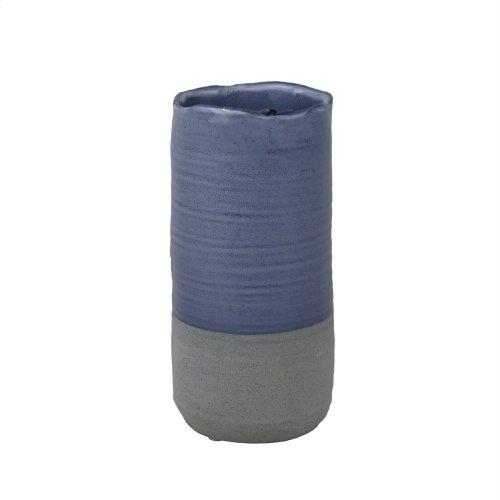 Blue/gray Vase