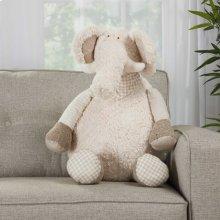 "Plushlines N1463 Ivory 1'10"" X 2'2"" Plush Animals"