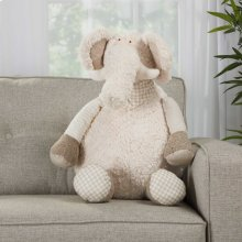 "Plushlines N1463 Ivory 1'10"" X 2'2"" Plush Animals"
