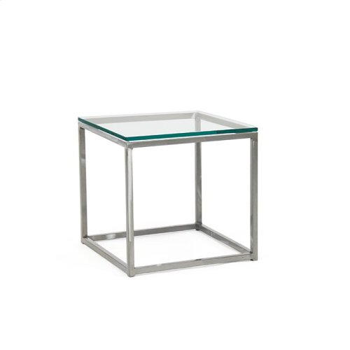 Cubic End Table