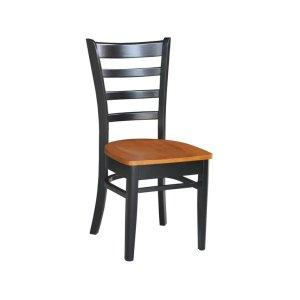 JOHN THOMAS FURNITUREEmily Chair in Black & Cherry