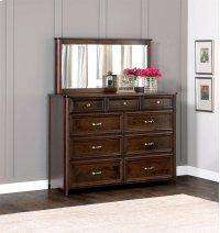 "Belvedere Bureau Mirror, Belvedere Bureau Mirror, 60""w Product Image"