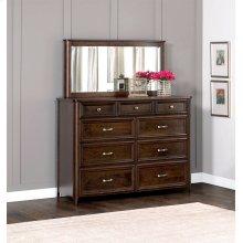 "Belvedere Bureau Mirror, Belvedere Bureau Mirror, 60""w"