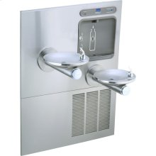 Elkay EZH2O Bottle Filling Station with Integral SwirlFlo Fountain, Refrigerated Filtered Stainless
