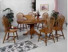 Farmhouse 5PC Dining Set w/ butterfly leaf Product Image