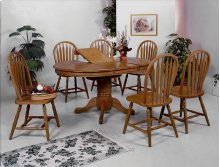 Farmhouse 5PC Dining Set w/ butterfly leaf