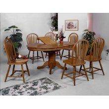 Farmhouse 5PC Dining Set w/ butterfly leaf