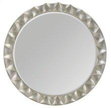 Miramont Round Mirror in Silver Sand (360)