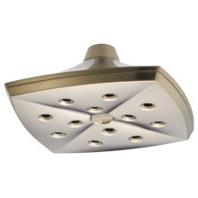 H 2 Okinetic® Square Raincan Showerhead