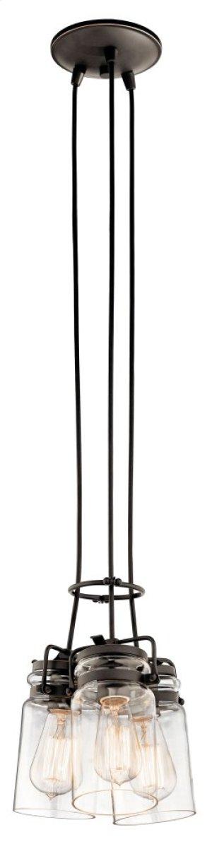 Brinley 3 Light Pendant Olde Bronze®