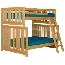 Bunkbed, Double XL over Queen, tall