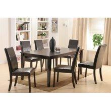 Wood / Veneer Top Leg Table