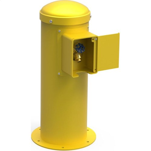 Elkay Yard Hydrant with Locking Hose Bib Non-Filtered, Non-Refrigerated Yellow