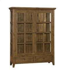 Tuscan Retreat Large Display Cabinet