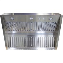 "Cambridge 42"" 304 SS BBQ Hood , 32"" Depth, 1250 CFM, Baffle Filter"