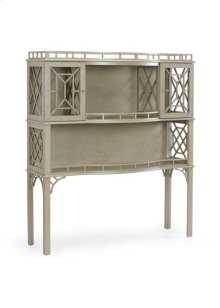 Fretted Cabinet - Gray