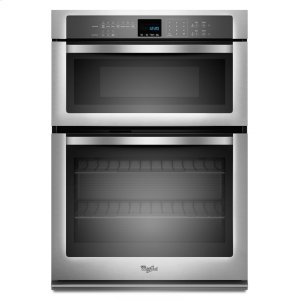 5.0 cu. ft. Combination Microwave Wall Oven with SteamClean Option - MONOCHROMATIC STAINLESS STEEL