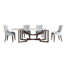 Metropolitan Wood Top Dining Table