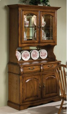 Dining - Classic Oak Small China Hutch