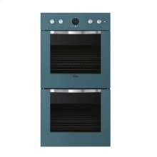 "Iridescent Blue 27"" Double Electric Premiere Oven - DEDO (27"" Double Electric Premiere Oven)"