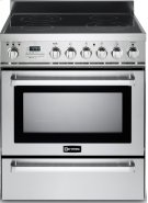 "Stainless Steel 30"" Self-Cleaning Electric Range Product Image"