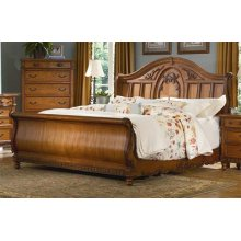 Southern Heritage Sleigh Bed