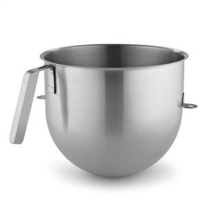 Kitchenaid8 Quart NSF Certified Polished Stainless Steel Bowl with J Hook Handle