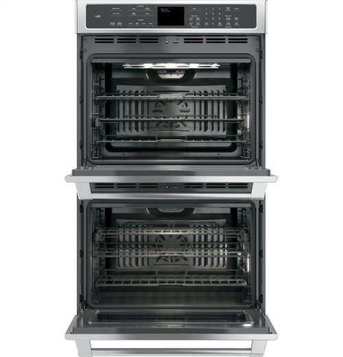 "GE Cafe™ Series 30"" Built-In Double Convection Wall Oven - CLEARANCE ITEM"