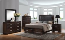 Brandy Dark Storage Bedroom