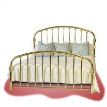 Halcyon Brass Bed (Plain) - #112P