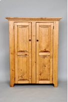 "#132 Double Door Jelly Cupboard 38""wx14""dx48.5""h Product Image"