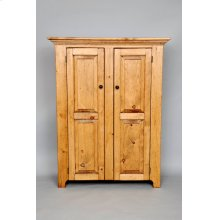 "#132 Double Door Jelly Cupboard 38""wx14""dx48.5""h"