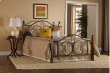 Milwaukee Wood Post Twin Bed