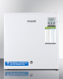 Compact All-freezer, Manual Defrost With A Lock and Traceable Thermometer