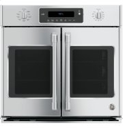 """GE Cafe™ Series 30"""" Built-In French-Door Single Convection Wall Oven Product Image"""