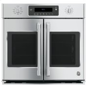 "GE Cafe™ Series 30"" Built-In French-Door Single Convection Wall Oven Product Image"