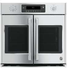 """GE Cafe™ Series 30"""" Built-In French-Door Single Convection Wall Oven"""