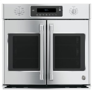 "GE Cafe30"" Built-In French-Door Single Convection Wall Oven"