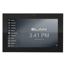 ELAN surface mounted touch panel with camera and intercom support.