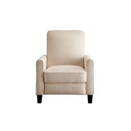 Push Back Reclining Chair, Beige