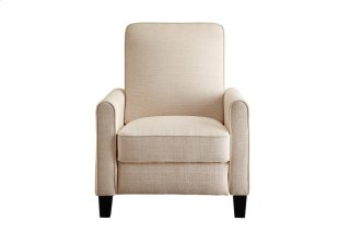 Push Back Reclining Chair, Beige