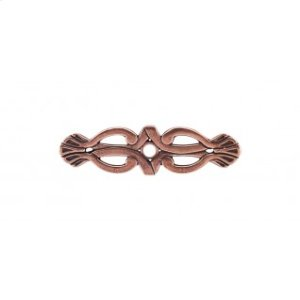 Newton Backplate 3 3/16 Inch - Old English Copper