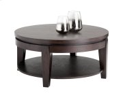 Asia Round Coffee Table - Espresso Product Image