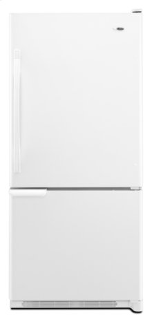 18.5 cu. ft. Bottom-Freezer Refrigerator with Freezer Basket