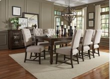 STANDARD 12821-12824 Paisley Court Leaf Table With 8 Chairs