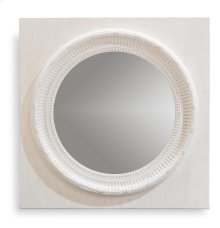 Circle Squared Mirror, Off White