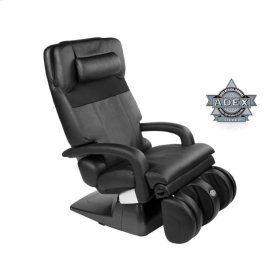 AcuTouch® HT-7450 Zero-Gravity Massage Chair - Black Leather/Leather Match
