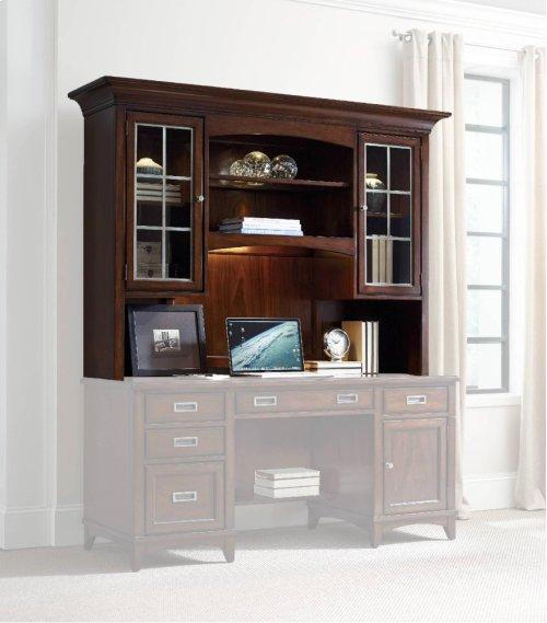 Latitude Computer Credenza/Desk Hutch